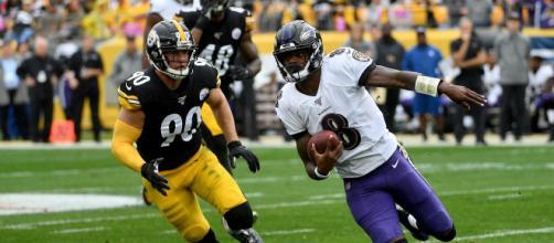 Steelers e Ravens fecham a 12ª rodada da NFL. (Arquivo Blasting News)