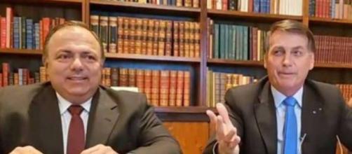 Coronéis criticam Pazuello e Bolsonaro. (Reprodução)