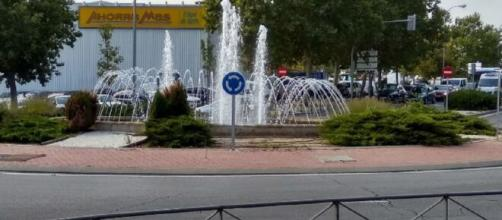 Frenazo provoca heridos en una rotonda de Vicálvaro