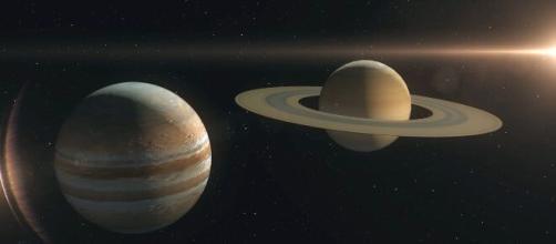 Giove e Saturno appariranno quasi sovrapposti.