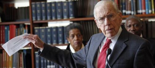 Mississippi grieves the death of former Gov. William Winter (image via abcnews/youtube.com)
