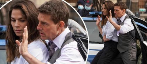 Tom Cruise se siente muy presionado por filmar en medio de la pandemia
