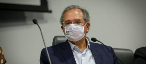 Guedes prepara projetos para elevar arrecadação de impostos no curto prazo. (Albino Oliveira/Ministério da Economia)