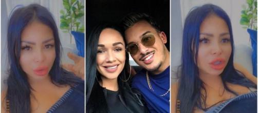 Maeva Ghennam accusée d'avoir brisé la famille de Jazz et Laurent, elle prouve qu'ils contactent des blogueurs pour briller.