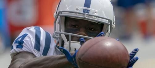 Zach Pascal had two touchdown catches on Sunday. [Image Source: Flickr | KA Sports Photos]