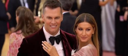Brady and Gisele have two children. [Image Source: Access/YouTube]