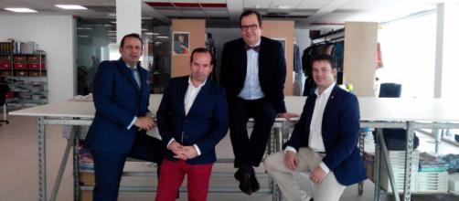La cuarta generación del negocio familiar, la firma de moda española Spagnolo.