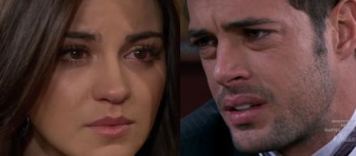 Maria termina com Max. (Televisa)