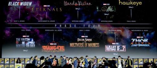 Marvel anunció las nuevas actores y personajes que se vienen en la Fase 4