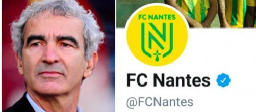Raymond Domenech est de retour au FC Nantes - Photo montage