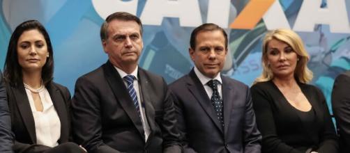 Em live Bolsonaro chama Doria de 'calcinha apertada'. (Arquivos Blasting News)