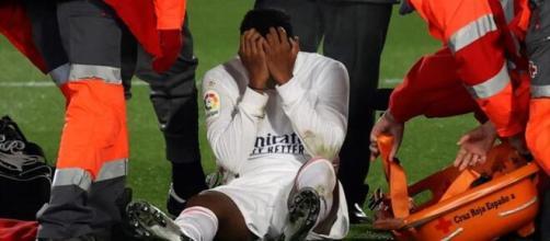 Rodrygo, sustituido por una lesión muscular / eurosport.com