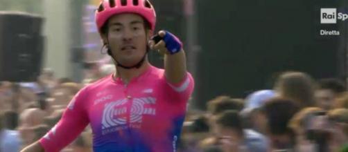 Alberto Bettiol, la vittoria al Giro delle Fiandre