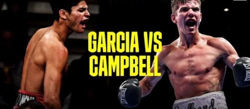 Garcia vs Campbell, sabato 2 gennaio in diretta streaming su Dazn.