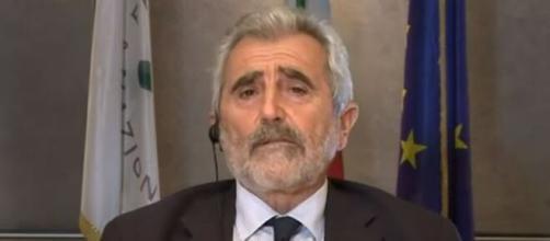 Il coordinatore del Comitato Tecnico Scientifico Agostino Miozzo.