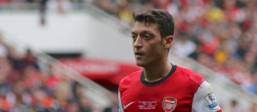 Mesut Ozil, centrocampista offensivo dell'Arsenal.