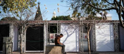'No sentimos que llegó la Navidad': la gente de Belén resiente la pandemia