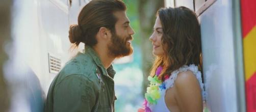 DayDreamer, trame turche: Can e Sanem sul punto di baciarsi.