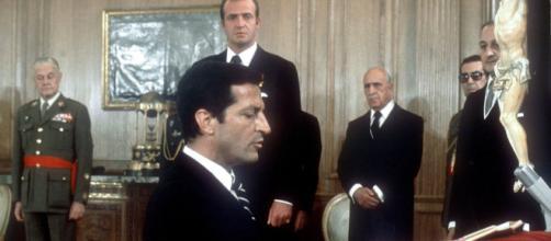 El expresidente Adolfo Suárez es reconocido por su papel durante la Transición española