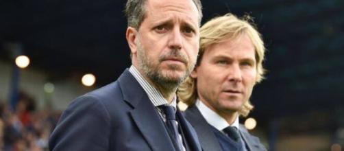 Fabio Paratici e Pavel Nedved, la dirigenza della Juventus valuta innesti per il mercato di gennaio.