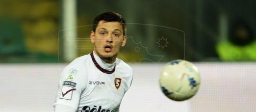 Milan Djuric, attaccante della Salernitana.