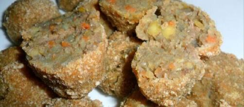 Polpette di lenticchie, un'idea alimentare per i vegani.