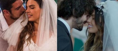 Ritinha se casou com Zeca e Ruy em 'A Força do Querer'. (Foto: Globo).
