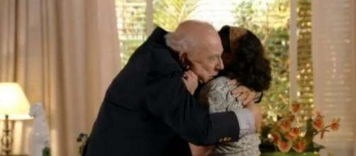 Dionísio e Marília Adília em 'Flor do Caribe'. (Foto: Globo).