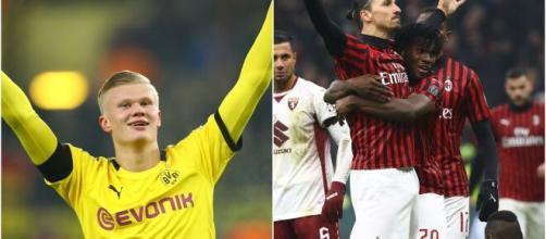 Haaland nasceu após a estreia de Zlatan pelo Malmö (Arquivo Blasting News)