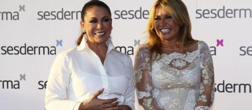 Isabel Pantoja y Nieves Quevedo, ama de llaves de Cantora y amiga de la tonadillera.