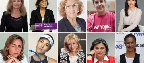 Las mujeres más importante de España