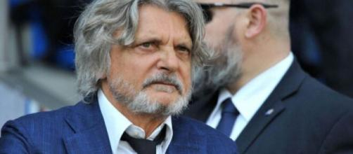 Massimo Ferrero, presidente della Samdoria.