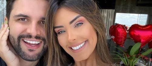 Rogério Fernandes e Ivy Moraes. (Reprodução/Instagram)