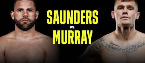Saunders vs Murray in programma venerdì 4 dicembre (foto Dazn).