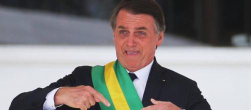 Bolsonaro é eleito a 'personalidade corrupta do ano', por consórcio de jornalistas. (Arquivo Blasting News)