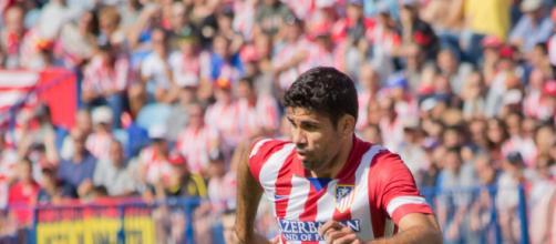Diego Costa, ex punta dell'Atletico Madrid e del Chelsea.