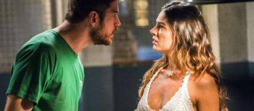 Zeca e Ritinha em 'A Força do Querer'. (Foto: Globo).