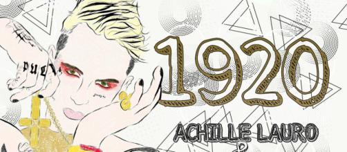 Achille Lauro rilascia il suo nuovo album intitolato 1920.