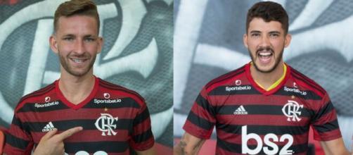 Gustavo Henrique e Léo Pereira decepcionam em primeira temporada no Flamengo. (Fotomontagem)