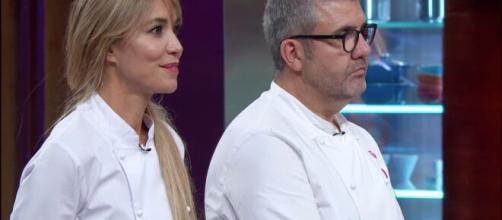 Raquel Meroño y Florentino Fernández a punto de conocer al ganador de 'MasterChef Celebrity 5'
