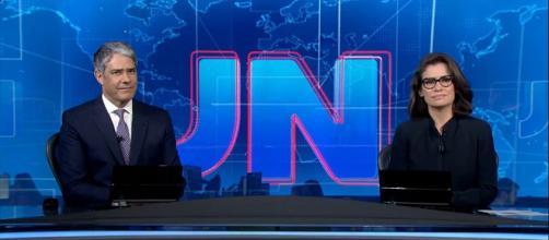 Bonner e Renata, do JN, são intimados a depor por suposta desobediência judicial. (Reprodução/TV Globo)