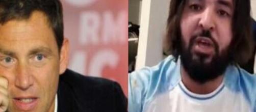 Daniel Riolo s'est moqué de Mohamed Henni après que ce dernier ait comparé Maradona à Thauvin.