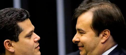 Ministros do STF analisam reeleição de Alcolumbre e Maia. (Arquivo Blasting News)