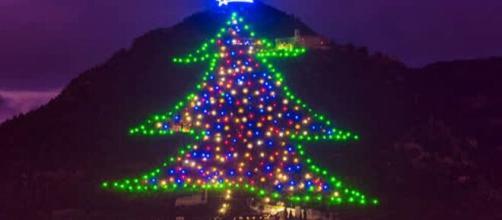 Accensione Albero di Natale a Gubbio 2020 - dailymotion.com