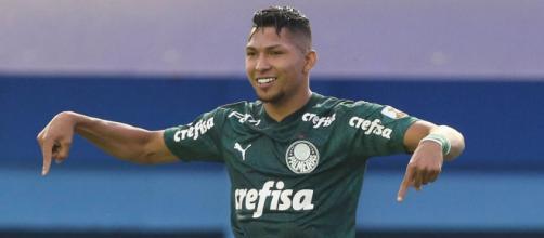 Atacante Rony está de volta à titularidade do Palmeiras. (Arquivo Blasting News)