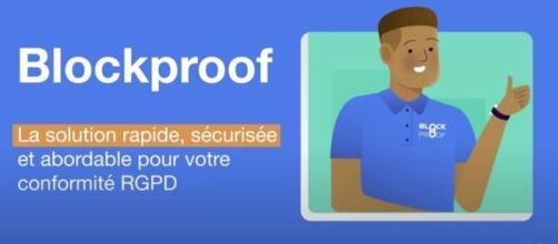 Cette startup toulousaine accompagne les entrepreneurs pour leur conformité avec le RGPD ©Blockproof RGPD