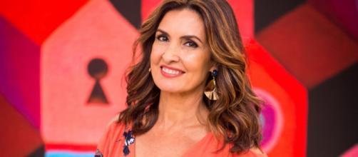 Fátima Bernardes faz cirurgia. (Reprodução/TV Globo)