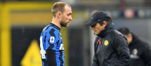 La Roma chiede Eriksen all'Inter.