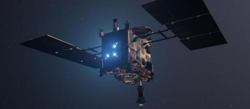 La sonda giapponese Hayabusa 2 riporta frammenti dell'asteroide Ryugu.
