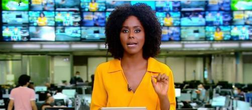 Maju Coutinho e a Globo enfrentam processo na Justiça. (Reprodução/TV Globo)